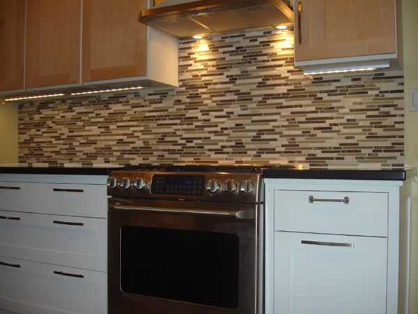 Tile Backsplash With White Cabinets simple mosaic tile backsplash with white cabinets size of glass